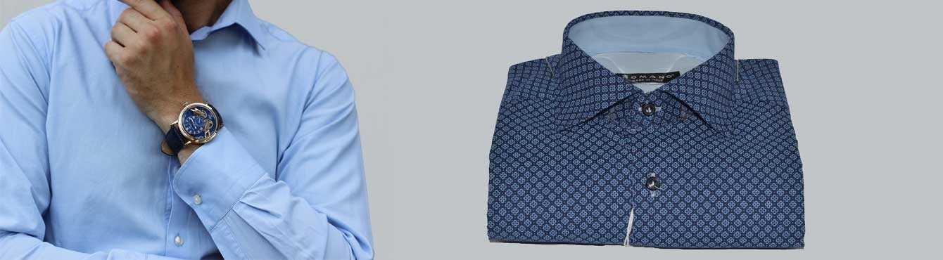 Camicie Uomo Manica Lunga | Casual, Eleganti | La Collezione Romano